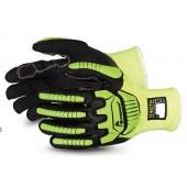 Superior Glove TenActiv™ Anti Impact Hi-Viz Micropore Nitrile