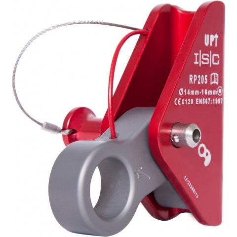 ISC RP205 tauklemme med Pip Pin aksel 14-16mm